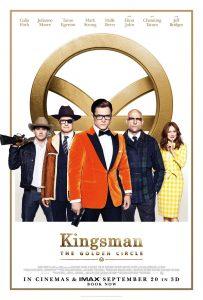 Nieuwe Kingsman: The Golden Circle poster