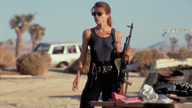 Linda Hamilton keert terug in Terminator franchise