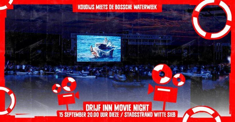 Drijf Inn Movie Night tijdens Bossche Waterweek