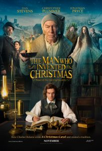 The Man Who Invented Christmas trailer en poster