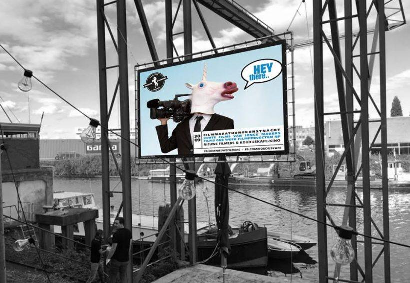 Openlucht filmmarathon Nieuwe Filmers