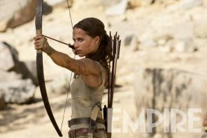 Nieuwe foto Alicia Vikander als Lara Croft in Tomb Raider