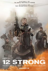 12 Strong trailer met Chris Hemsworth en Michael Shannon
