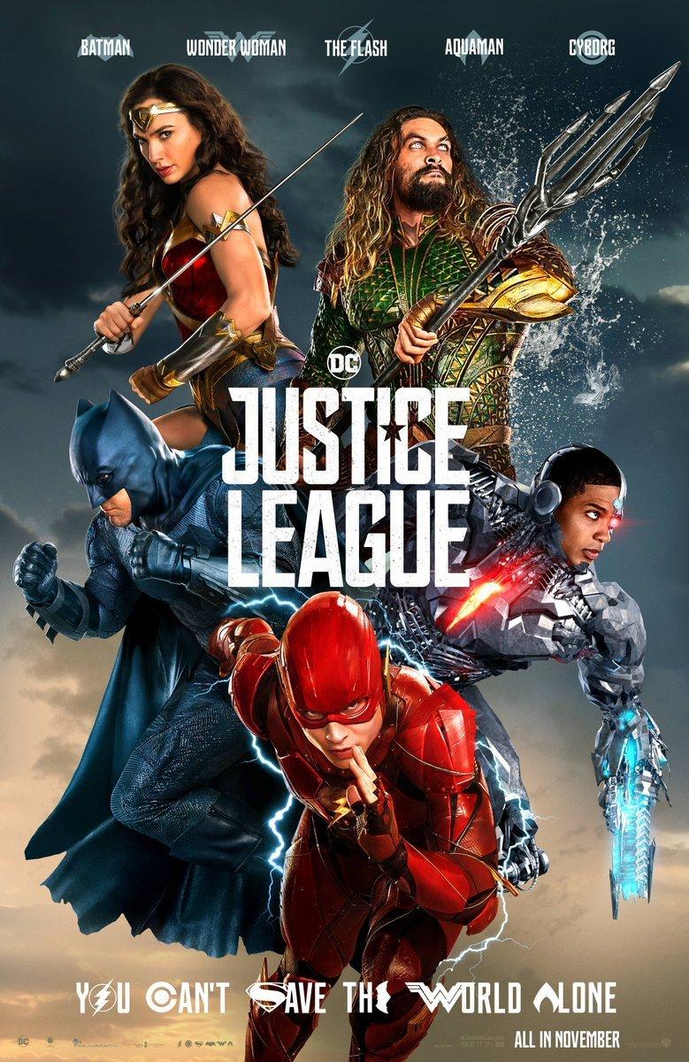 Nieuwe Justice League poster en team banner