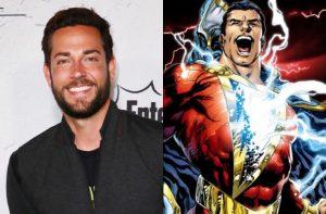 Zachary Levi hoofdrol in DC's Shazam