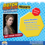 Lena Headey (Game of Thrones) aanwezig bij Dutch Comic Con