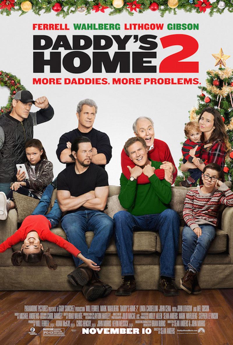 Nieuwe Daddy's Home 2 trailer en poster