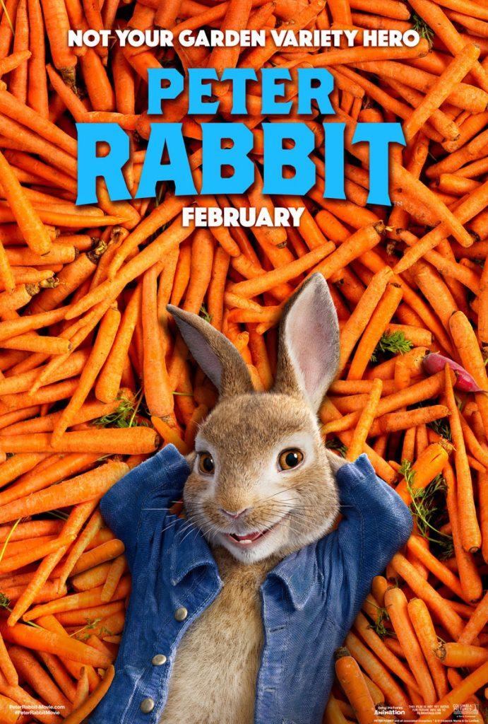 Nieuwe trailer en poster Peter Rabbit