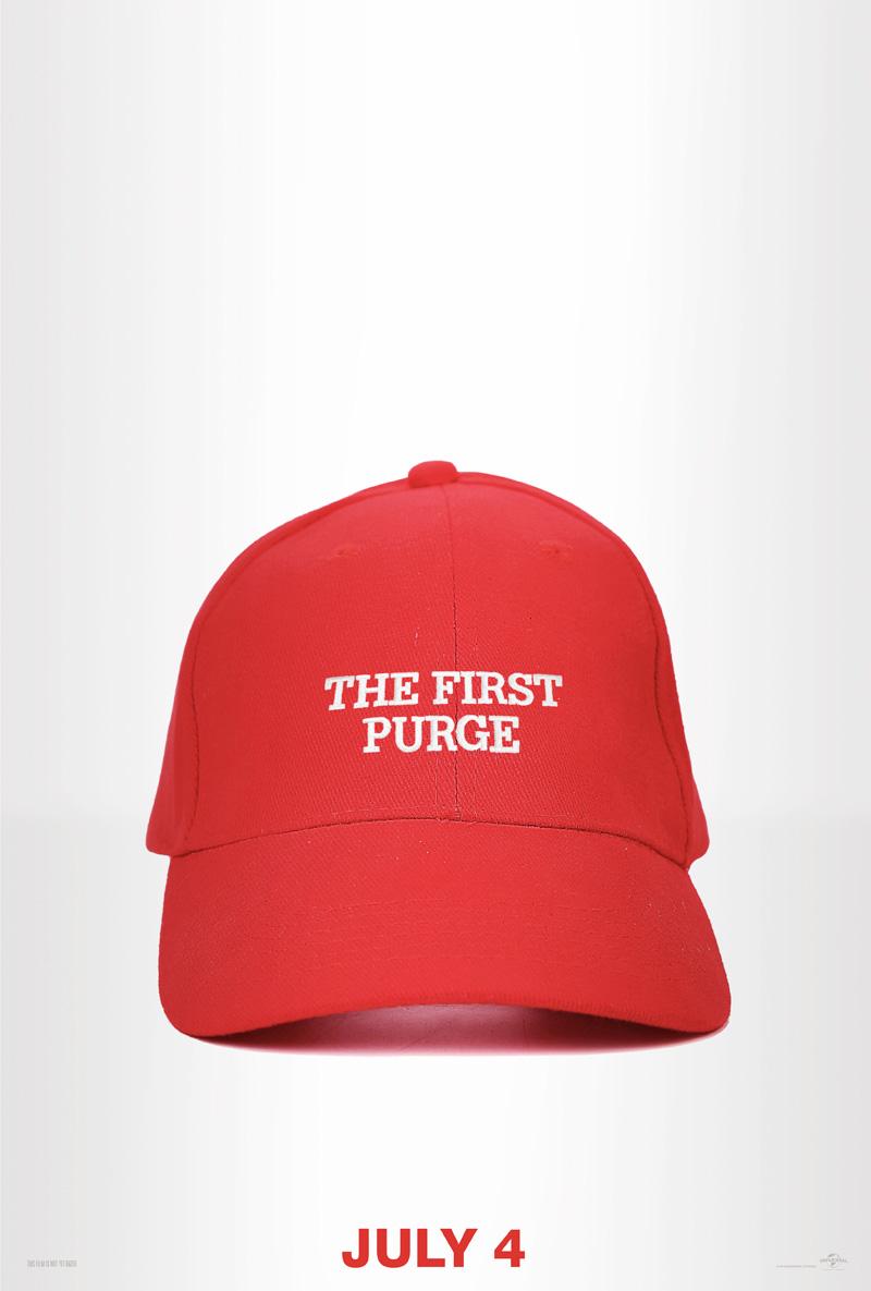 Eerste poster voor The First Purge