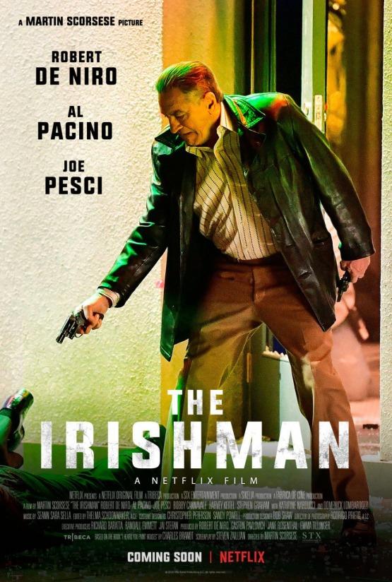 Eerste poster The Irishman met Robert De Niro en Al Pacino