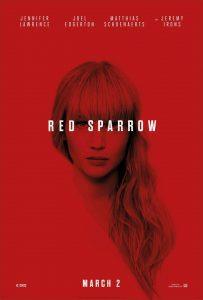 Nieuwe trailer en poster Red Sparrow met Jennifer Lawrence