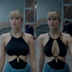 Borsten Jennifer Lawrence gecensureerd in Red Sparrow tv-spot
