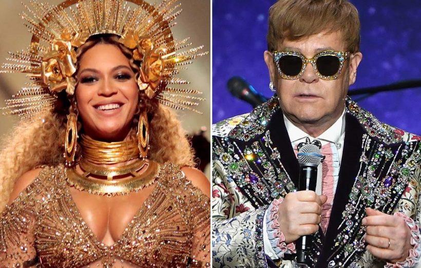 Elton John & Beyoncé nemen nieuw liedje op voor The Lion King