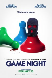 Nieuwe trailer Game Night met Jason Bateman en Rachel McAdams
