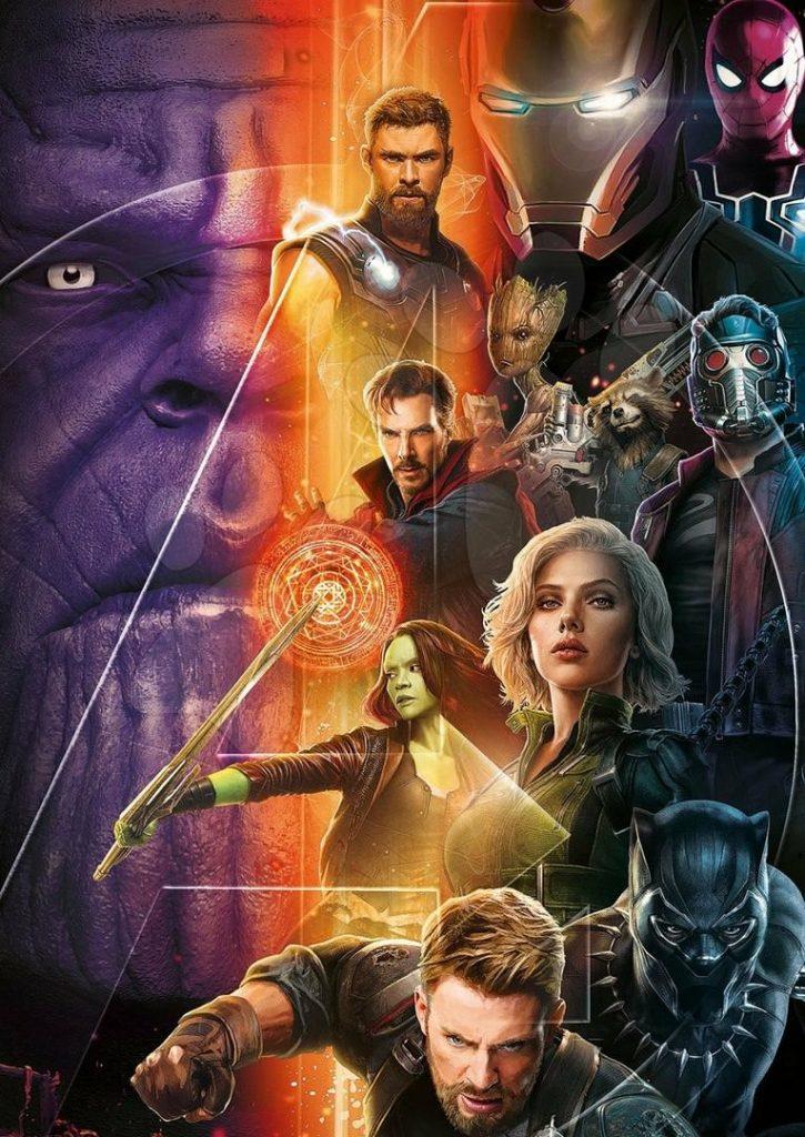 Nieuwe Avengers: Infinity War promo