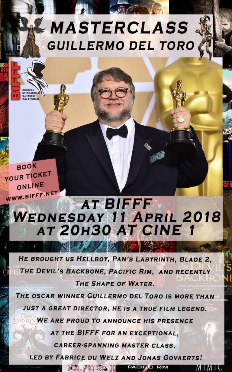 Guillermo del Toro komt naar het Brussels International Festival of Fantastic Film