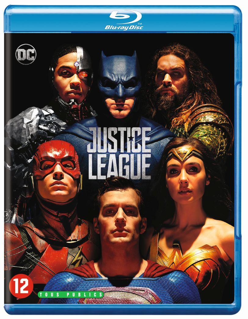 Winactie Justice League Blu-Ray