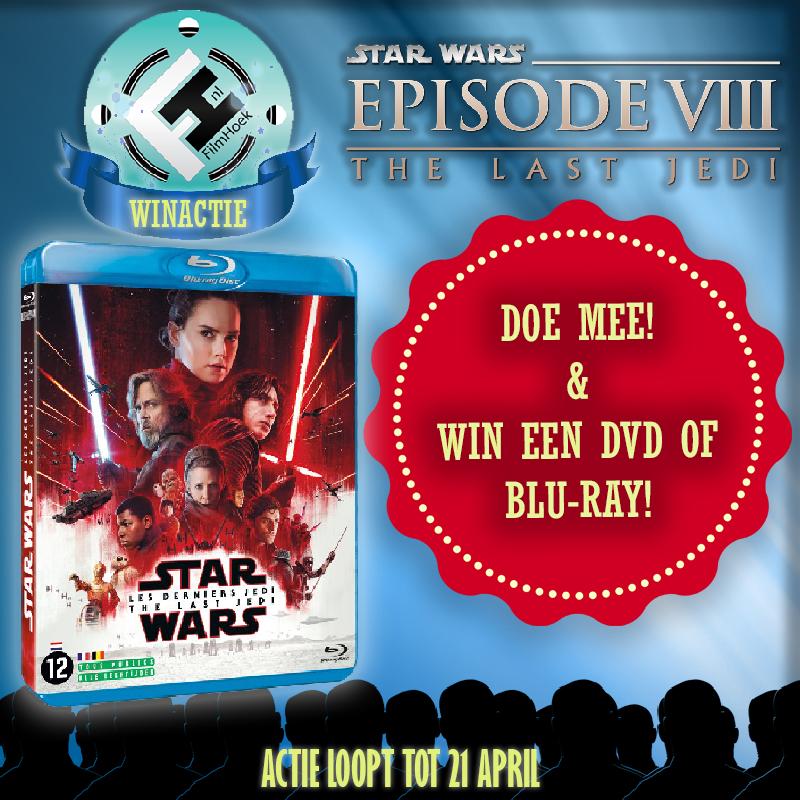 Winactie Star Wars: Episode VIII - The Last Jedi DVD