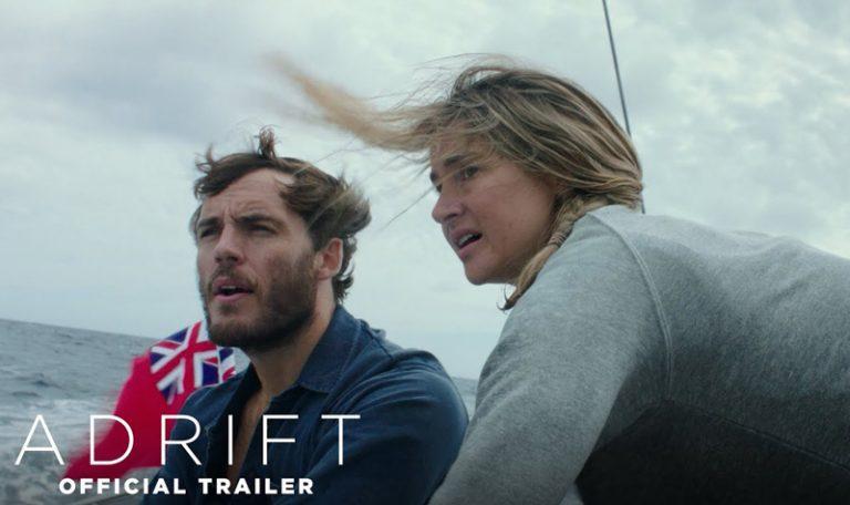 Shailene Woodley & Sam Claflin in trailer survival film Adrift