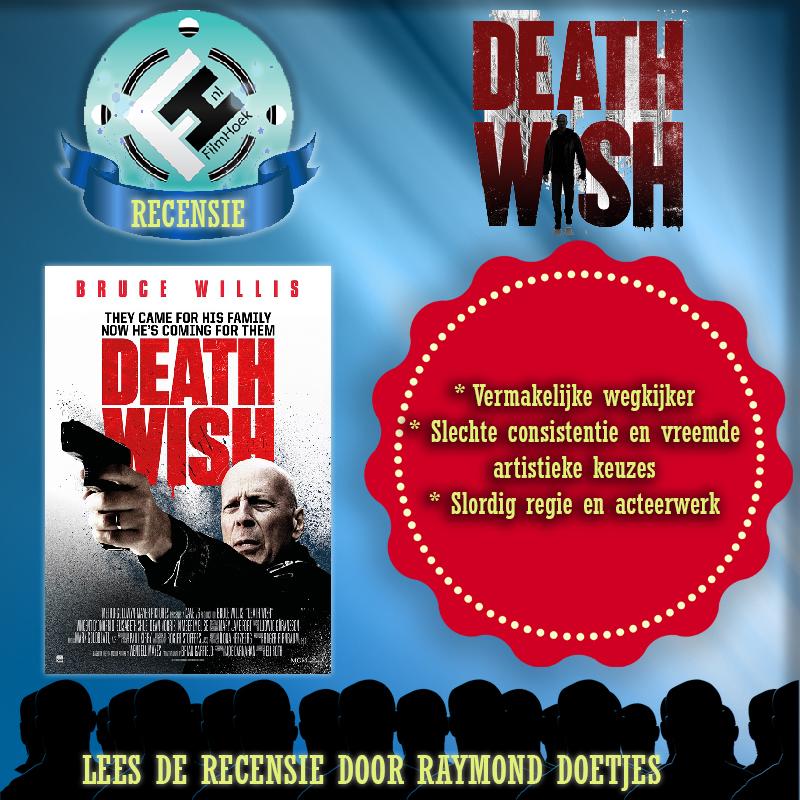 Recensie Death Wish (Raymond Doetjes)
