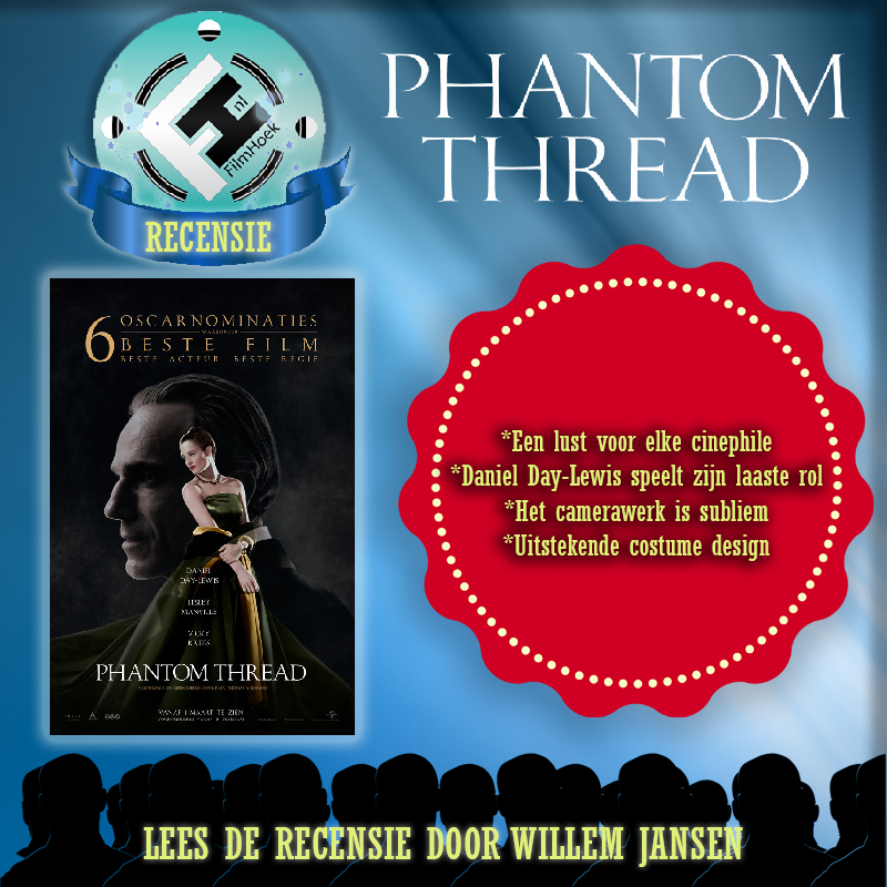Recensie Phantom Thread