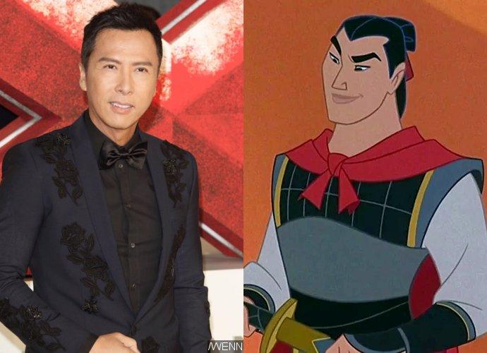 Donnie Yen hoofdrol in Disney's live action Mulan