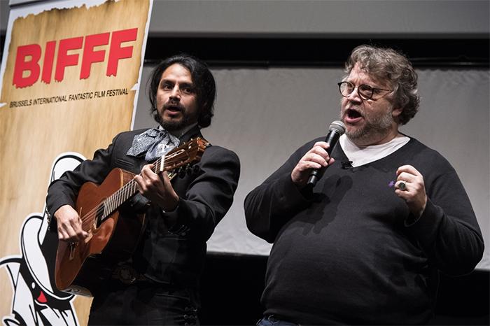 Guillermo del Toro op het BIFFF 1