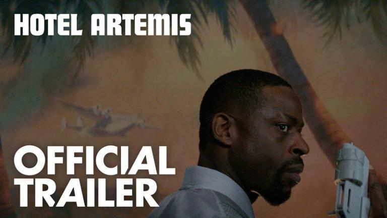 Trailer Hotel Artemis met Foster, Boutella, Goldblum, Bautista