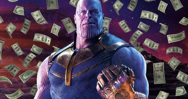 Avengers: Infinity War is de snelste film die ooit $1 miljard verdiende