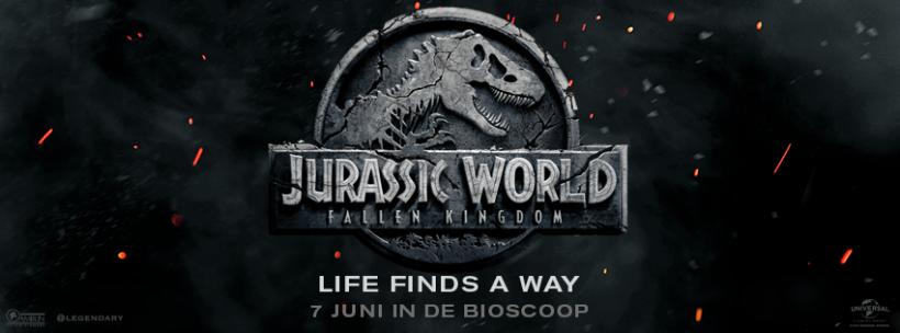 Winactie | Jurassic World: Fallen Kingdom – Beëindigd