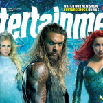 Jason Momoa als Aquaman op de cover van EW
