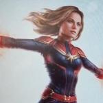Gelekte Captain Marvel concept art toont Carol Danvers & Nick Fury