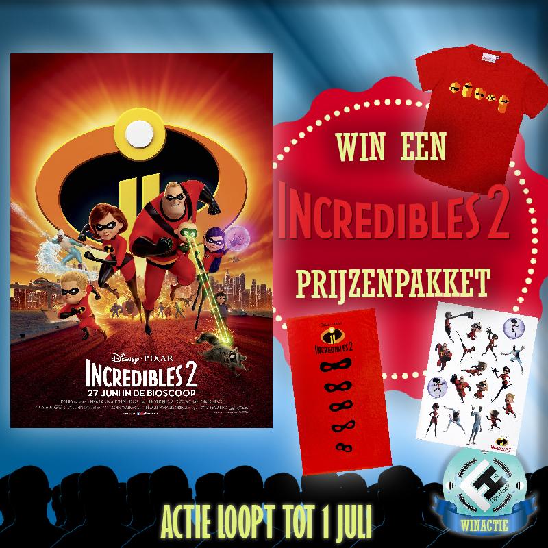 Prijsvraag Incredibles 2
