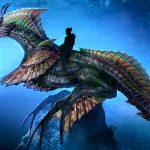 Eerste blik op zeepaarddraak uit Aquaman