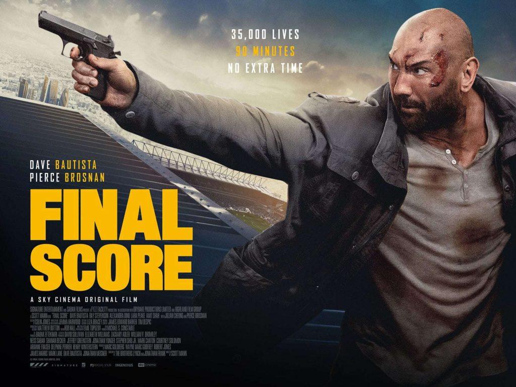 Final Score met Pierce Brosnan en Dave Bautista