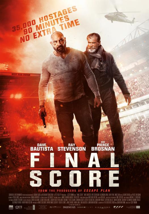 Final Score met Brosnan en Bautista