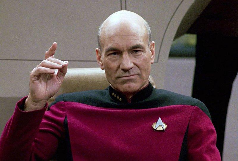Patrick Stewart hoofdrol in nieuwe Star Trek serie