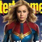Eerste blik op Brie Larson als Captain Marvel