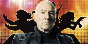 Patrick Stewart is Bosley in Charlie's Angels