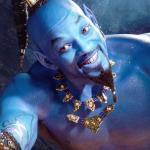 Will Smith's blauwe Genie in Aladdin | De beste reacties