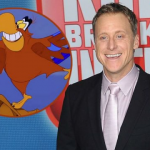 Alan Tudyk is de stem van Iago in Disney's Aladdin