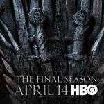 Poster voor Game of Thrones seizoen 8