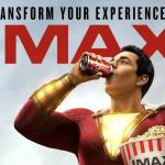 Shazam! IMAX-poster nodigt je uit om je ervaring te transformeren