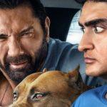 Kumail Nanjiani en Dave Bautista in de trailer voor Stuber