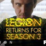 Trailer voor Legion seizoen 3