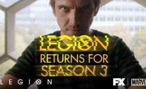 Legion seizoen 3