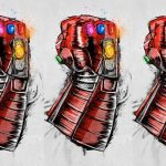 Officiële poster voor de terugkeer van Avengers: Endgame