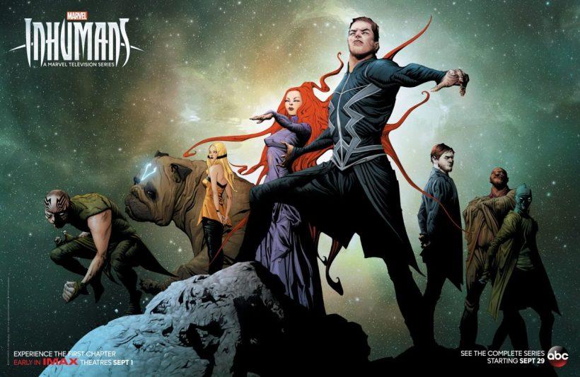 Nieuwe Comic-Con poster voor Marvel's Inhumans