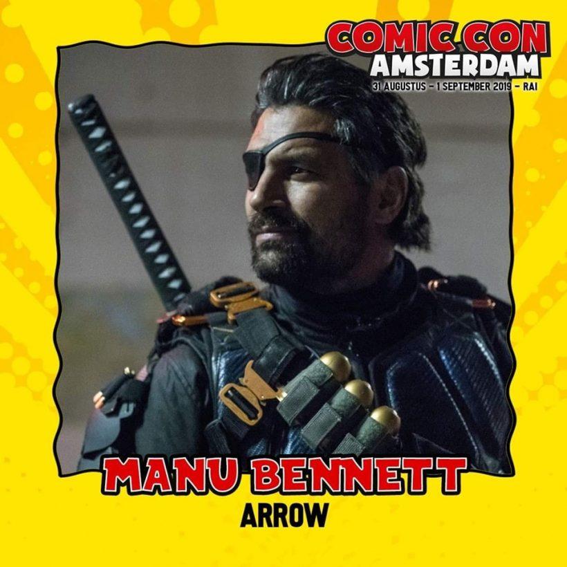 Manu Bennett Arrow