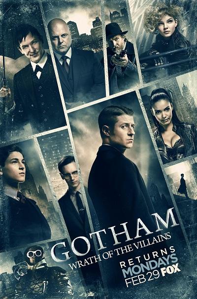 Nieuwe banner voor Gotham tweede deel seizoen 2.